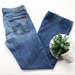 7 For All Mankind Dojo Flare Trouser Jeans Sevens